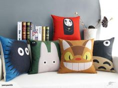 My Neighbor Totoro-Catbus Cushion Cover | Trade Me