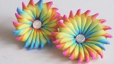 Pin hair flower