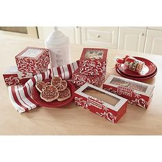 Set of 10 Treat Boxes in Holiday 2012 from Ginnys on shop.CatalogSpree.com, my personal digital mall.