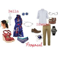 bellaedwrdproposal, created by tufano79 on Polyvore