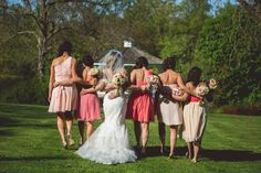 Cute idea for bride and bridesmaids