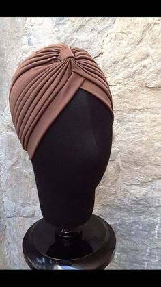 Hey, I found this really awesome Etsy listing at https://www.etsy.com/listing/201264204/brown-turban-full-headbandheadpiecebrown