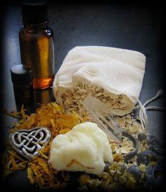 DIY:  Make Your Own Herbal Bath Bag