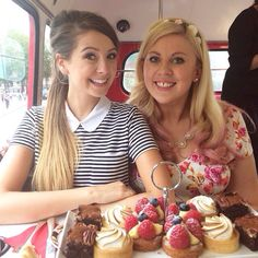 Zoe and Louise- Zoella and SprinkleofGlitter