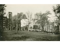 New York University Archives (Washington Square Village in 1891)