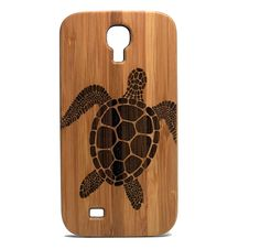 Sea Turtle Galaxy S4 Case. Tribal Tattoo Ocean Sea Hawaiian Honu. Eco-Friendly Bamboo Wood Samsung Cell Phone Cover. Brand New & High Quality & 100% Satisfaction Guaranteed. Snap-on design, easy installation. Custom Made - Designed Specifically to Fit Samsung Galaxy S5.