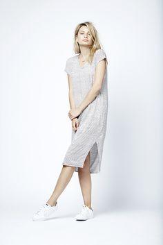 Bliss striped dress.  Fashion // clothing // woman // inspiration // www.dante6.com