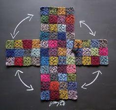 Free Crochet Bag Patterns Part 14 - Beautiful Crochet Patterns and Knitting Patterns Crochet Handbags, Crochet Purses, Free Crochet Bag, Knit Crochet, Crochet Bags, Crochet Squares, Crochet Stitches, Sac Granny Square, Knitting Patterns