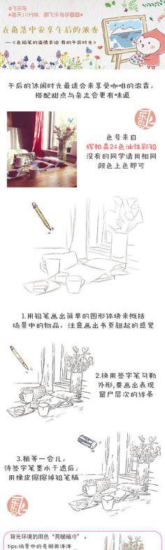 #每天10分钟,跟飞乐鸟学画画#