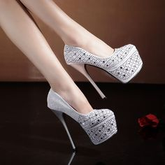 Latest High Heel Shoes 2015-2016 for Bridal