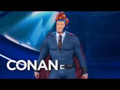 Conan Suits Up For Comic-Con®  - CONAN on TBS - http://abibiki.com/conan-suits-up-for-comic-con-conan-on-tbs/