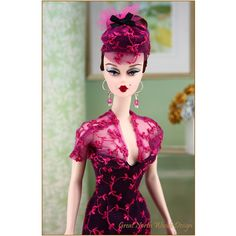 "Silkstone Barbie wearing ""Scherzo"" by Great North Woods Design"
