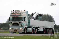 半挂侧翻 | Scania R620 P.J. Hoogendoorn Transport B.V ...