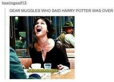 This is the best one yet. <--- YES! Stupid Muggles thought it was over...It's never over!