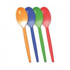 Con cucharas de plástico podemos hacer muchas manualidades como una veleta para que gire con el aire.
