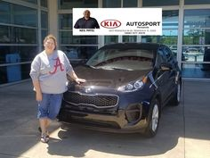 KIA AutoSport Of Pensacola And Neil Patel Would Like To CONGRATULATE  Christian Zelius On The Purchase Of Her NEW 2018 Kia Sportage!!!