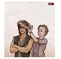 Daryl and Carol I swear this is so accurate at least for the first 2 seasons