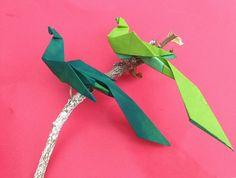 "Bird Origami - Paper ""Bird of Paradise"""