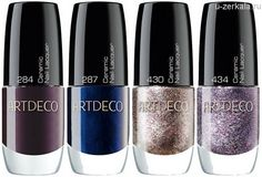 Рождество от Artdeco: Glam, Moon and Stars Collection, Holiday 2014 - Ceramic Nail Lacquer