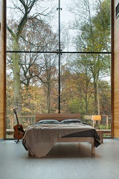 conflictingheart: (via Garden Bedroom - modern - bedroom - other metro - by Natural Bed Company)