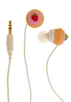 Cupcake head phones... @fancy lady