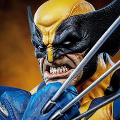 "Daniel Bel on Instagram: ""Wolverine Bust full reveal is up! And tomorrow will be ready for pre-order, check @sideshowcollectibles for more info.  It was super fun to…"" Logan Wolverine, Sideshow Collectibles, Fun, Instagram, Check, Lol, Funny"