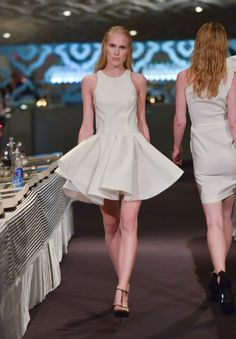 Recently, we had the pleasure of witnessing Greta Constantine's upcoming Spring/Summer 2014 collection. Canadian designers Kirk Pickersgill and Stephen Wong as always, have outdone themselves once more. Cocktail attire and gowns sauntered down the runway that all screamed red carpet.