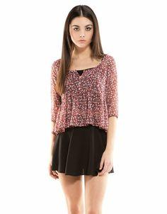 Bershka Spain - BSK print blouse