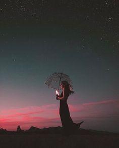 Bryan adam c portrait bokeh umbrella sunset fair lights light bombs