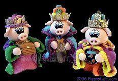 three wise pigs
