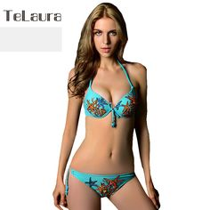 Find More Bikinis Set Information about 2016 Cute Bikini Push Up Girls Swimsuit Scrunch Halter Underwire Swimwear Ladies Sexy Bikini Set Women Two Piece,High Quality suit pins,China suit christmas Suppliers, Cheap swimwear purple from Telaura Swimwear Store on Aliexpress.com