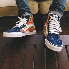 """sweetsoles: """" Star Wars x Vans Reissue 'Yoda Aloha' - 2014 """" Vans Sneakers, High Top Sneakers, Mens Vans Shoes, Converse, Air Jordan, Reebok, Nba, Basket Sneakers, Urban Fashion"""