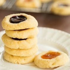 Classic Jam-Filled Thumbprint Cookies | Brown Eyed Baker