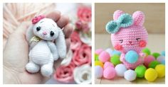 Bunnies are the most classic symbol for Easter. Here are some Free Amigurumi Bunny Crochet Patterns for you to make cute bunnies for decor or as gifts.