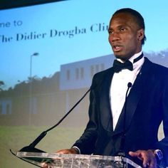 Didier Drogba Foundation Launch of his hospital. Not just about football. He cares for others and his country.
