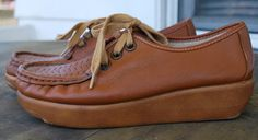 1970's Soft Spots shoes Size 7   used these to work in at fast food restaurants as a teen.