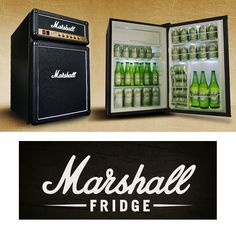 Get Amped, The Marshall Fridge Is Here. And Yep, It Goes To Eleven.