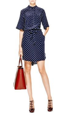 Drawstring Waist Tunic Dress by Suno - Moda Operandi