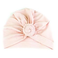 7d687a97863 Baby Wisp® Baby Hat Turban Knot Light Pink. Trendy bohemian style vintage turban  hat headwrap with a round knotted swirl bun in ...
