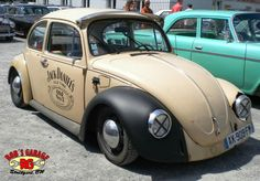 VW Käfer Rat Ratte Car Oldtimer Oldschool Jack Daniels Walldorf Rock n Roll Weekender Rockabilly low