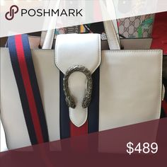 New Gucci DIONYSUS white Leather Beautiful Gucci Leather bags best quality inspired Gucci Bags Satchels