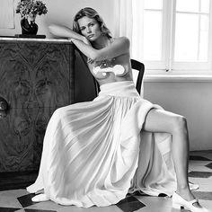 Edita Vilkeviciute by Alexandra Nataf for Unconditional Magazine, January 2019 — Portraits Of Girls Strapless Dress Formal, Formal Dresses, Wedding Dresses, Become A Fitness Model, Edita Vilkeviciute, Dna Model, V Instagram, Mademoiselle, Editorial Fashion