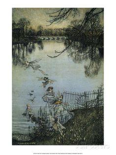 The Fairies of the Serpentine, 1906 Art Print