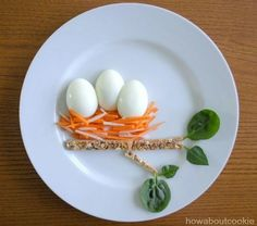 A few weeks ago I worked on several food art plates for Artizone, a local online grocery and delivery service. The food art was to celebrate the launch of their newest products, snack packs of vegg… Cute Snacks, Cute Food, Good Food, Yummy Food, Food Art Lunch, Baby Food Recipes, Healthy Recipes, Healthy Kids, Guava Recipes