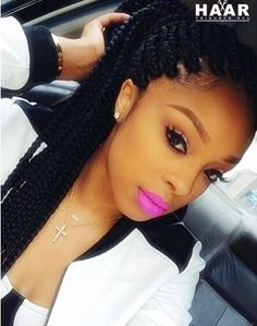 African American natürliche Braided Frisuren 2015-2