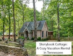 Storybook Cottage vacation rental Leipers Fork TN