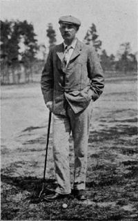 Donald Ross in 1905. Golf Course Architect that Orrin E. Smith trained under (my great grandfather)