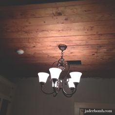 How to put in wood ceilings