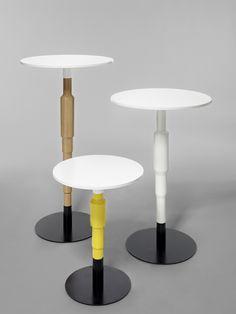 Composition of Cosmos pedestal table
