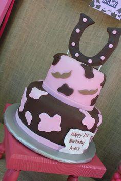 Cowgirl birthday cake! #cowgirl #birthday #cake